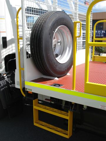 Extra spare tyre
