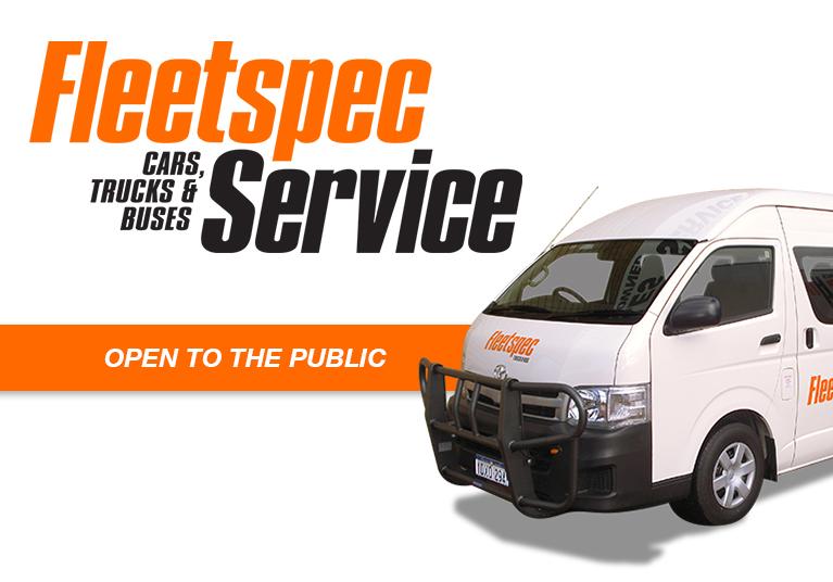 Mine spec truck