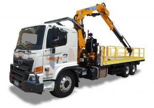12 ton Crane Truck Hire Mining Perth WA