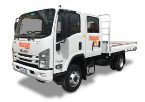 4 ton 4×4 Crew Cab Truck Hire Perth WA