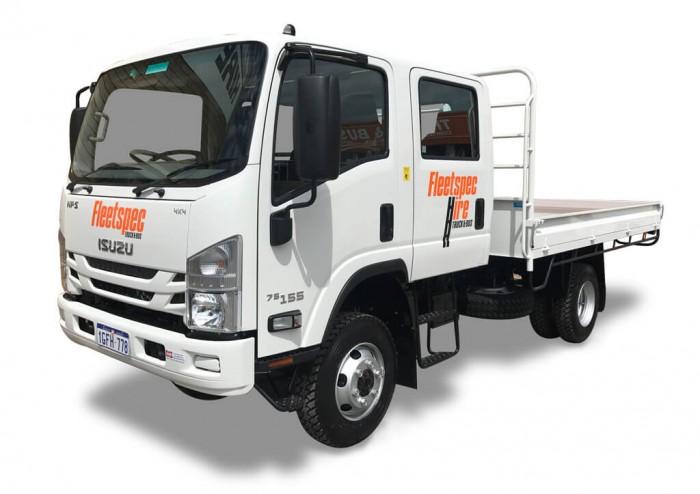 4 ton 4×4 Crew Cab Truck