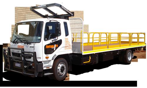 9 Ton-8m-Tray truck hire mining WA