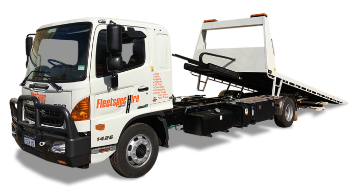 7 Ton Tilt Tray Truck 23 ton 8×8 Tray Truck Hire with Crane Perth WA