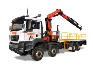 23 ton 8x8 Tray Truck Hire with Crane mining Perth WA