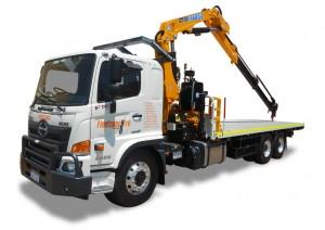 12 ton Crane Truck Hire Perth WA