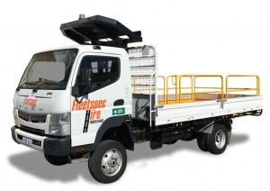 2 ton 4x4 Truck Hire mining WA