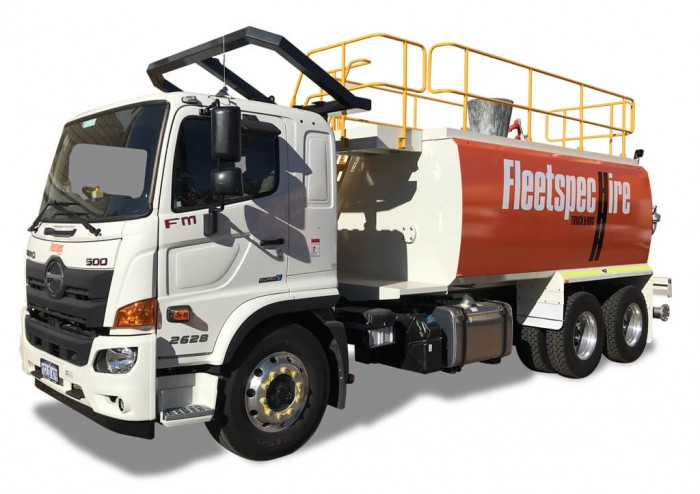 15000 Water Truck Rental Perth