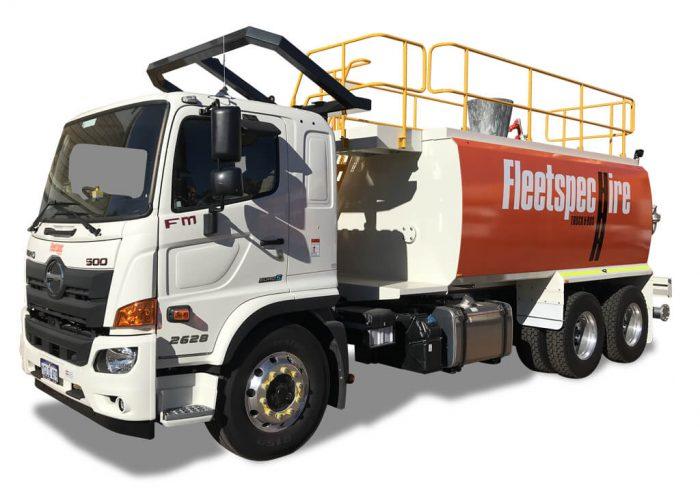 15000 Litre Water-Truck-Hire Perth WA