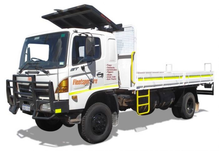 8 ton 4x4 Tray Truck Hire Perth WA